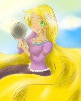 Me and My Frying Pan by Divine-Princess