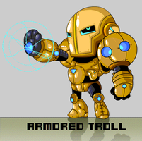 Armored Troll by vancamelot