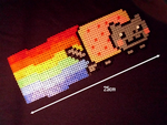 Nyan cat by Nostra-Drawing