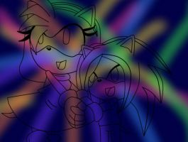 .:~Lina and Vale~:._Color Illusions by SEGAVale