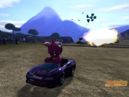 Nidoking in ''ModNation Racers'' by McOuchies