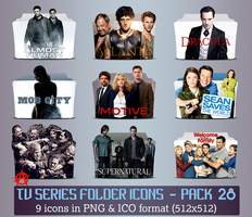TV Series - Icon Pack 28 by apollojr