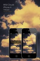 iPhone 4 Wild Clouds Wallpaper by Martz90