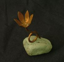 Simple Copper Flower by Marcusstratus