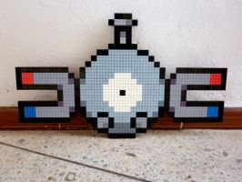 LEGO: Magnemite by Meufer