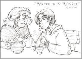 Motherly Advice - HBP by lberghol