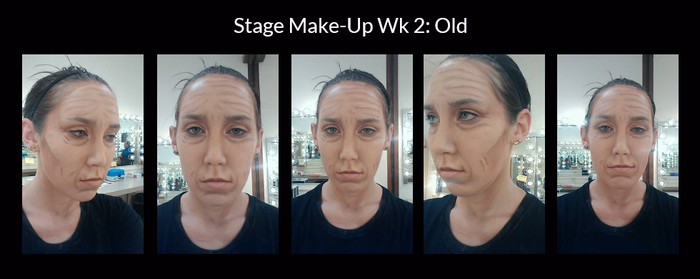 Stage Make-Up Wk 2 by Lady-Ceridwen