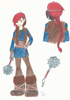 HTTYD 2: Dotta Colored by Maygirl96