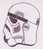 Stormtrooper Sketch by turnbuckle