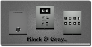 Black And Gray by Klaus83