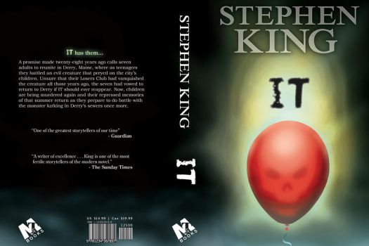 Book Cover Design - IT by CurtisSwain
