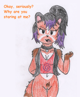 Art Trade - Sasha the -Oblivious- Red Panda by RaijinSenshi