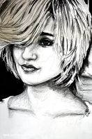 Dianna Agron... or Charlie by raymundpecho