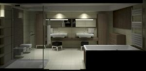 Bathroom Viz - Night - 3 by zipper