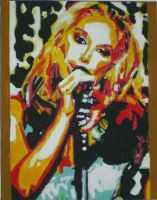 ANASTACIA in pop art style by die-sonni