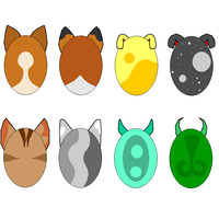 Animal adoptable eggs -CLOSED- by Harry-Potter-Addict