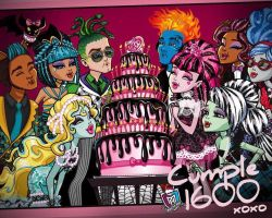 monster high sweet 1600 cleo,holt,deuce,ghoulia by edwardfanatic245