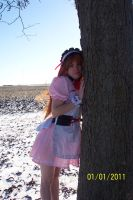 Tree hugger by lilburi4ever