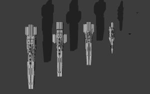 Ship Size Comparison by TheOrangeGuy