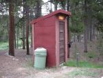THE OUTHOUSE AT OUR CABIN by KerensaW
