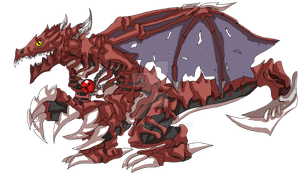OC Digimon ultimate stage- Grimvecordramon by VegaAltair