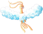 Dragon Type Collab: Shiny Altaria by PitchBlackEspresso