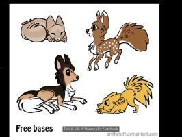 Puppy Adopts- 4 points each (OPEN) by Bay-fire