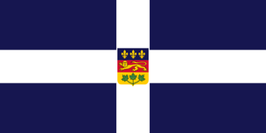 Alt Flag - The Quebec Flag that Could Have Been by AlienSquid