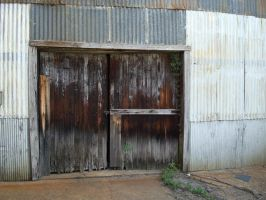 weathered doors by D3115uxor