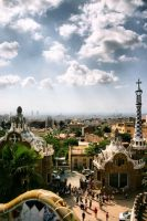 Park Guell by j-adree