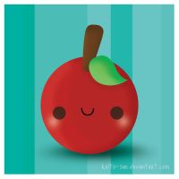 A Red Apple by Keito-San