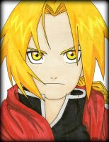 Full Metal Alchemist Edward Elric by Oskar-Draws