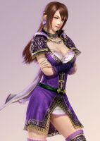 Dynasty Warriors Online Z - Gorgeous Dancer by RyanReos