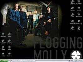Flogging Molly Desktop by Devispooky777