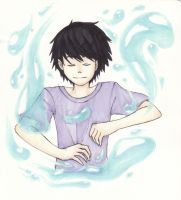 Percy use your awesome water powers by Iyasha