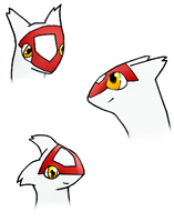 Latias poses: head by pokefan444
