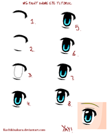 MS paint eye Tutorial by KuchikiSakura