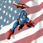 canvasCaptainAmerica by kre8uk