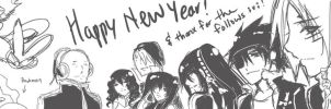 happy new year by darkn2ght