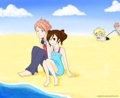 OHSHC - A Day at the Beach by paola-tm