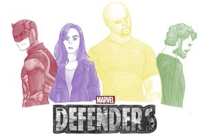 Defenders by pencilHead7