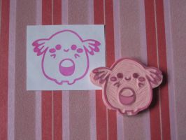 Chansey Stamp OuO by xxNostalgic