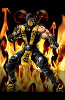 Scorpion Digital Colors by jamesq
