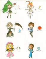 Awesome Female Chibis by ChibiJirachi