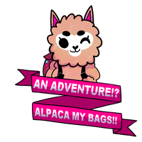 Alpaca my bags! by awokenbyacloud