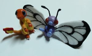 Petit Pokemon Posables by superayaa