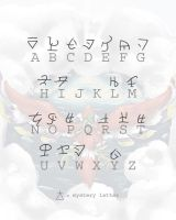 Skyward Alphabet by scowlingelf
