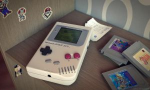 Classic Gameboy by JambioO