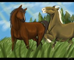 Two Friends by Spirity-N