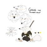 Gang the Tundra Wolf by BLTRex
